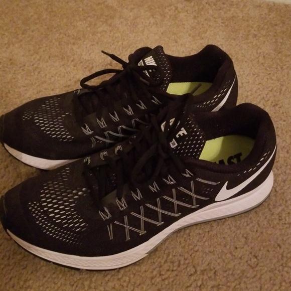 Nike Shoes Mens Black Zoom Pegasus 32 Poshmark